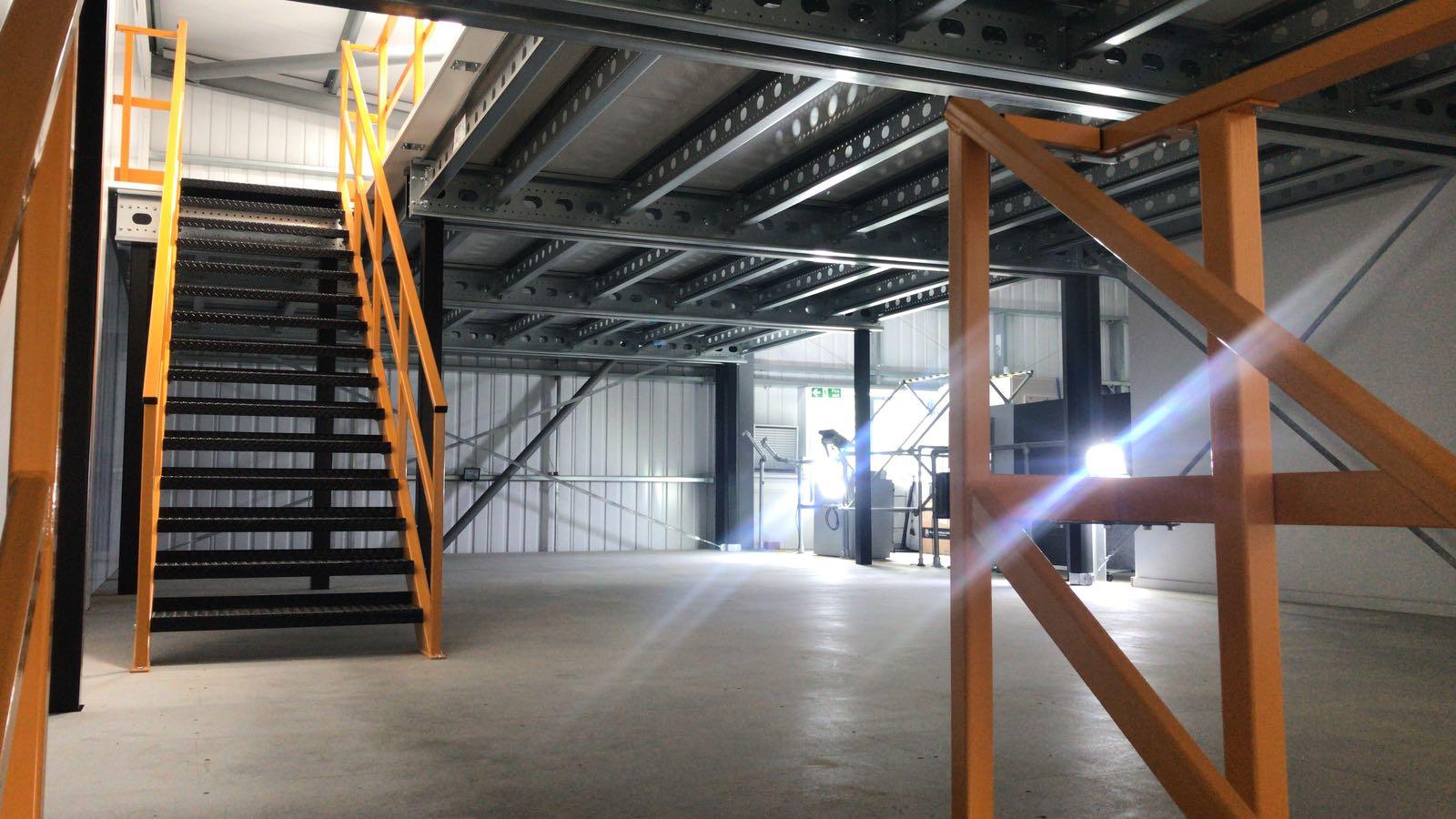 Storage mezzanine flooring   John Scott Works