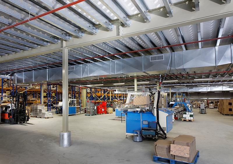 Mezz floor | Mezzanine floor company