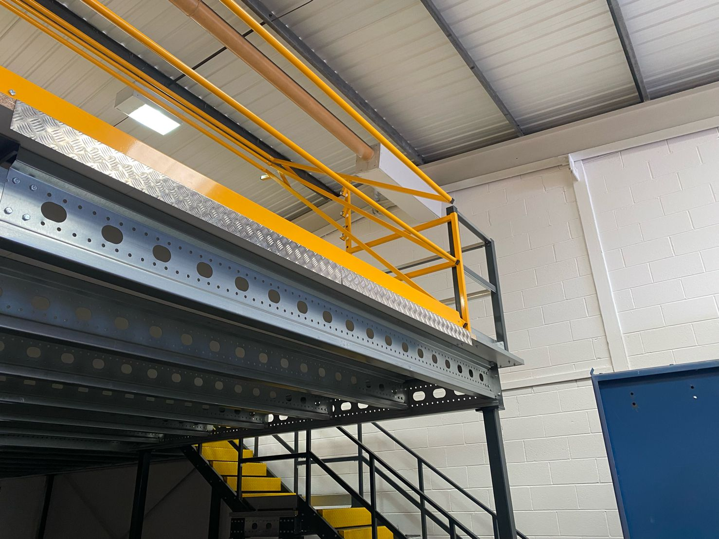 Mezzanine floor load capacity   John Scott Works