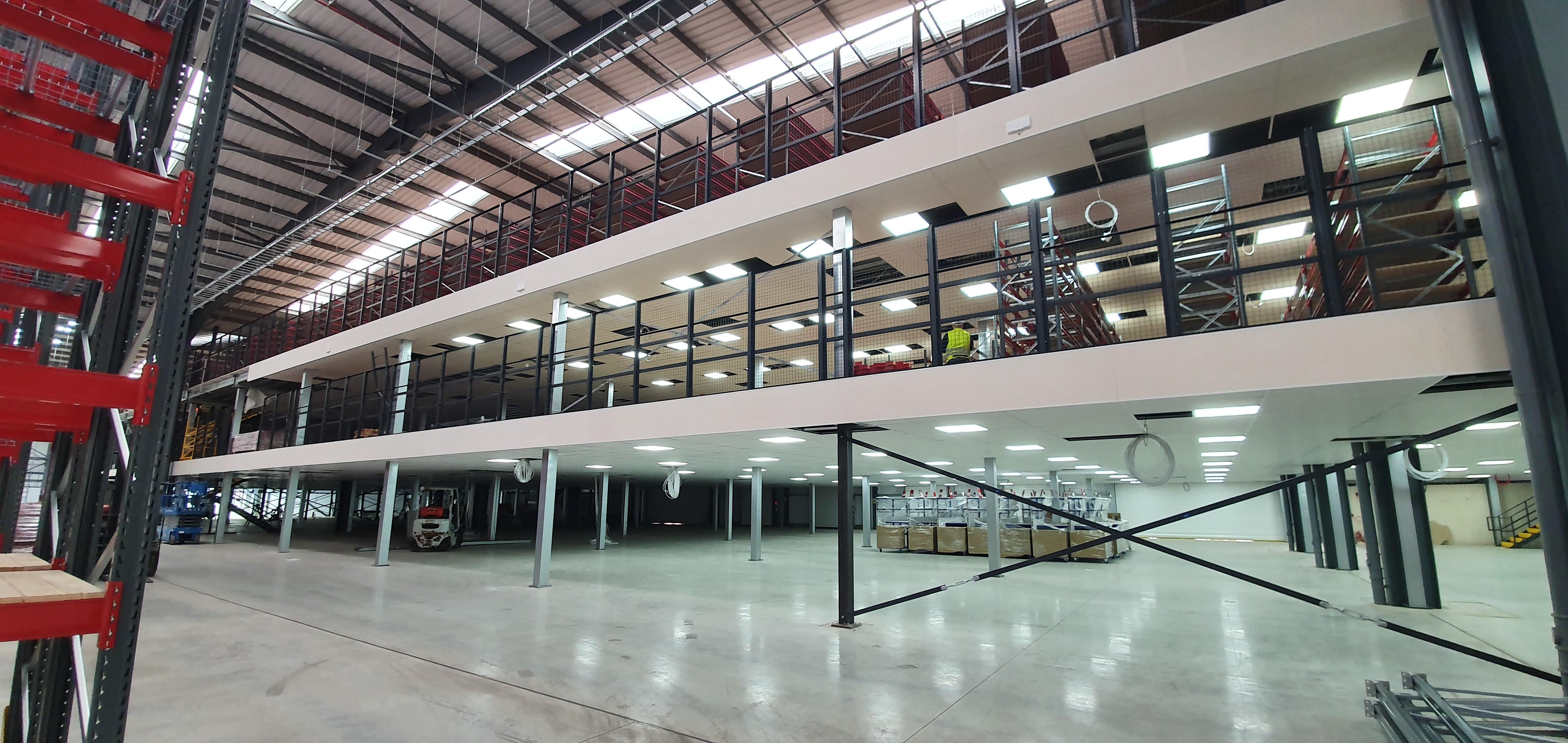 Multi-level mezzanine | John Scott Works