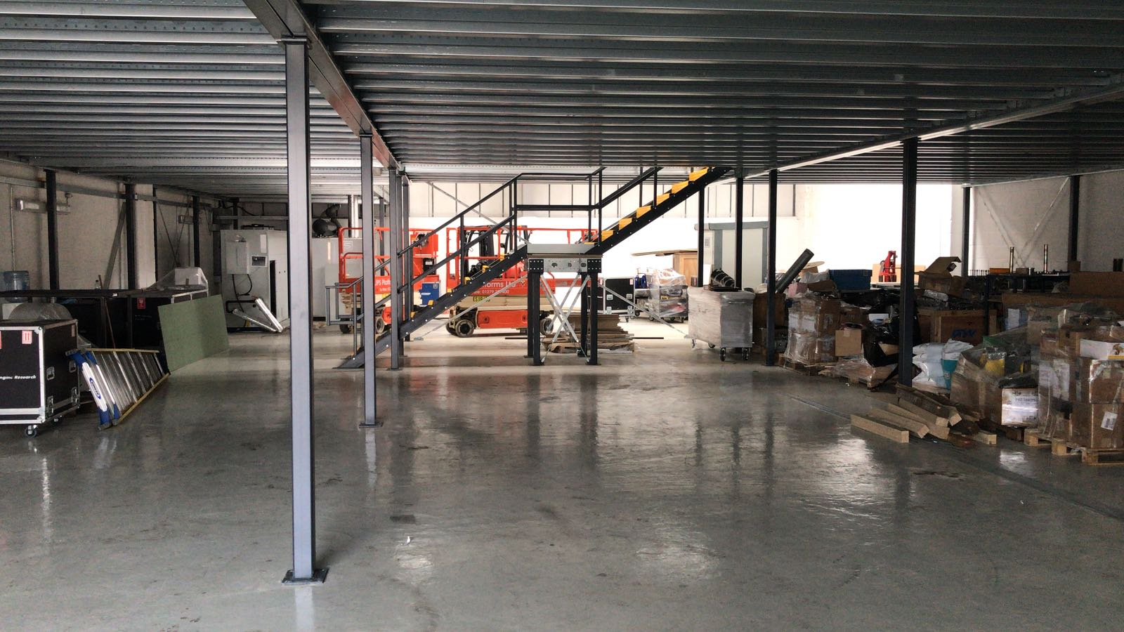 Creating extra space with a mezzanine floor