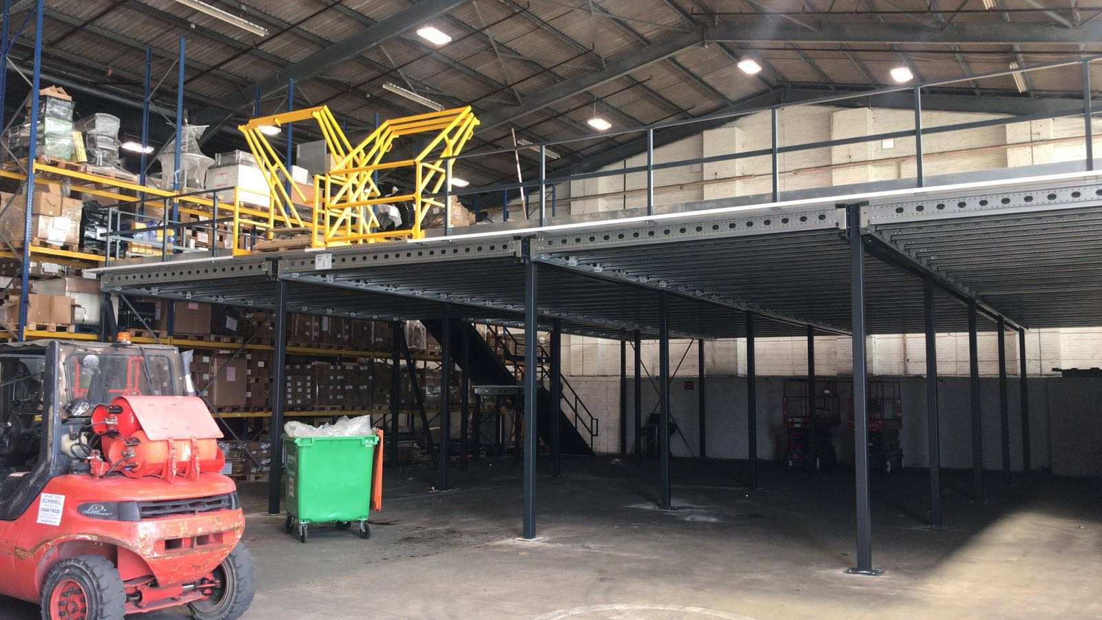 A mezzanine floor and safety | John Scott Works