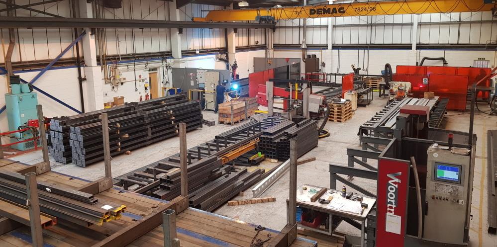 Production Mezzanine Floors