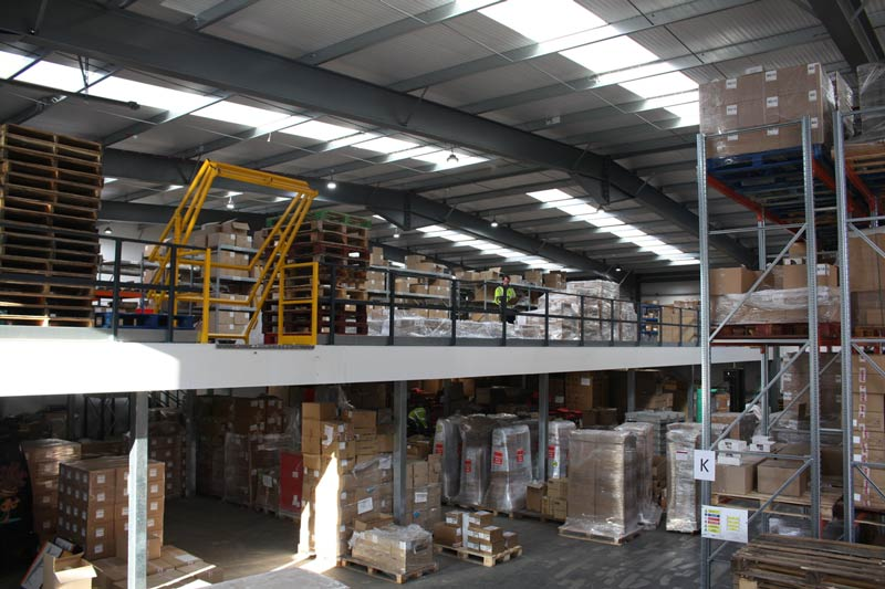 Warehouse mezzanine | John Scott Works